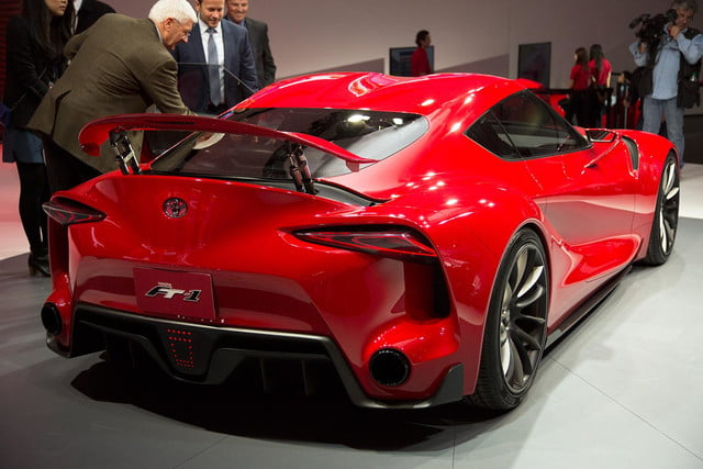 Toyota FT 1 rear right