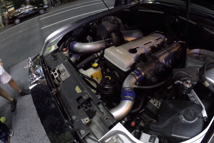 There's a Toyota-powered Rolls-Royce rumbling through the streets of Tokyo