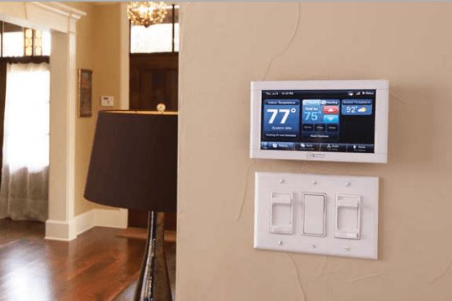 trane s xl824 smart control is a thermostat and hub digital trends Trane Psychrometric Chart