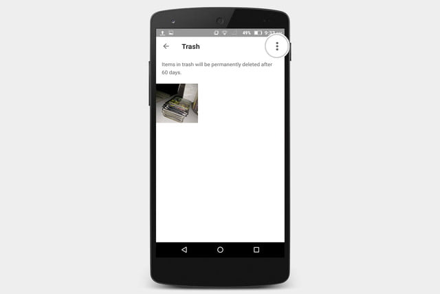 recover photos android