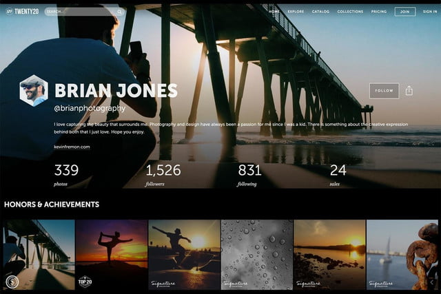 twenty20 wants to be the getty of mobile photography web photographer profile