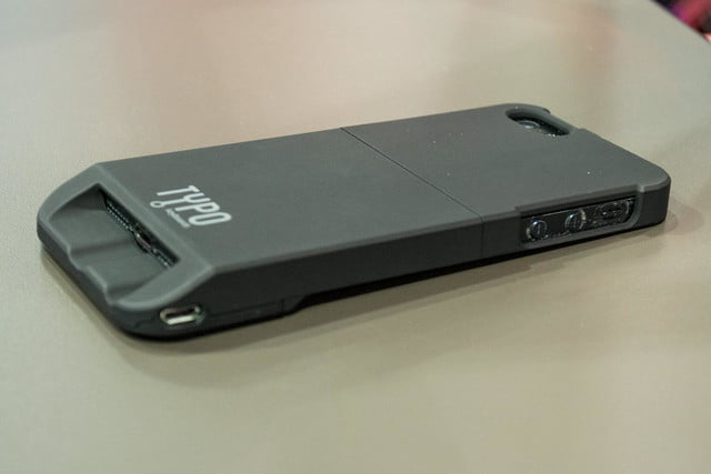 Typo iPhone 5 case review rear side