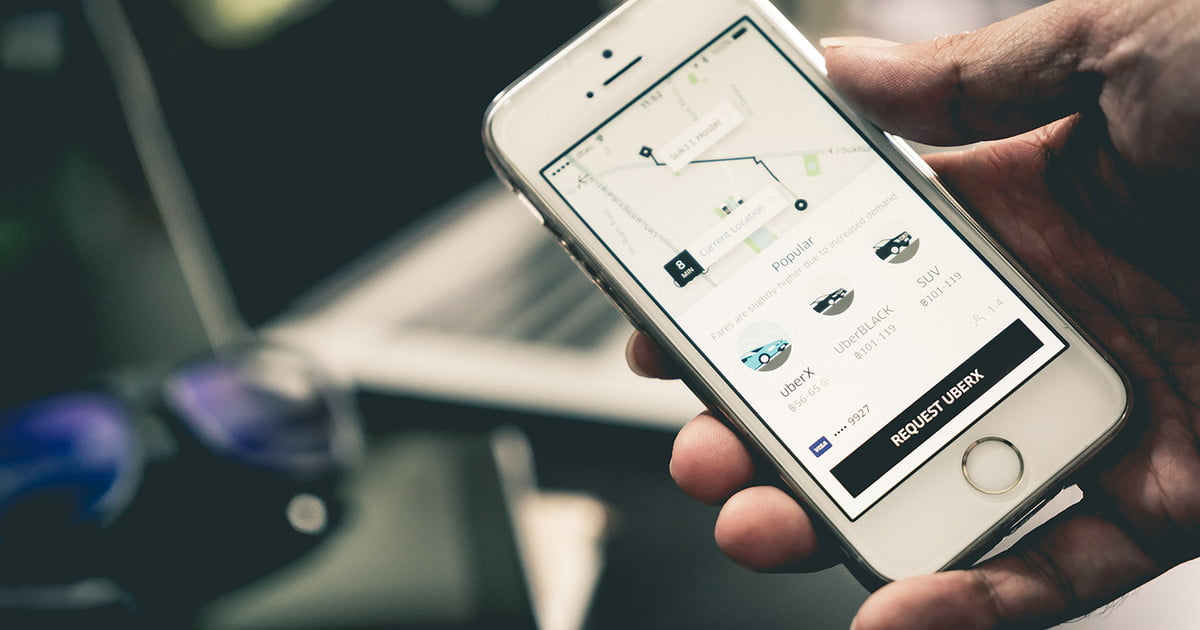how to delete uber account from phone