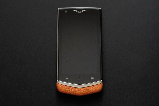 vertu constellation review front screen off