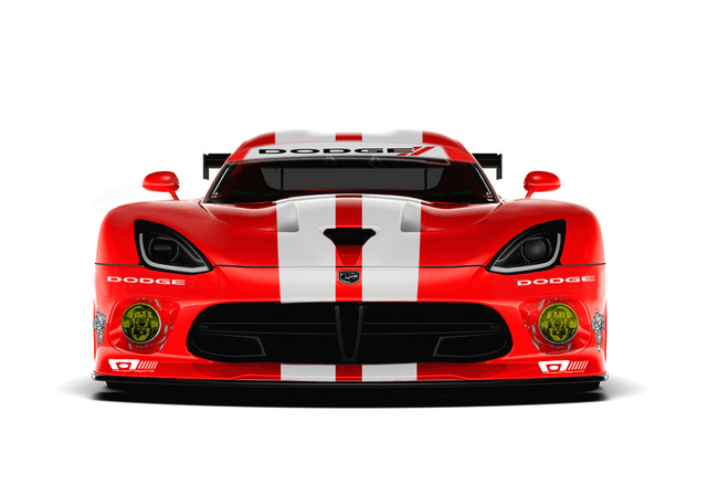 srt viper to wear old dodge racing livery again motorsports 3