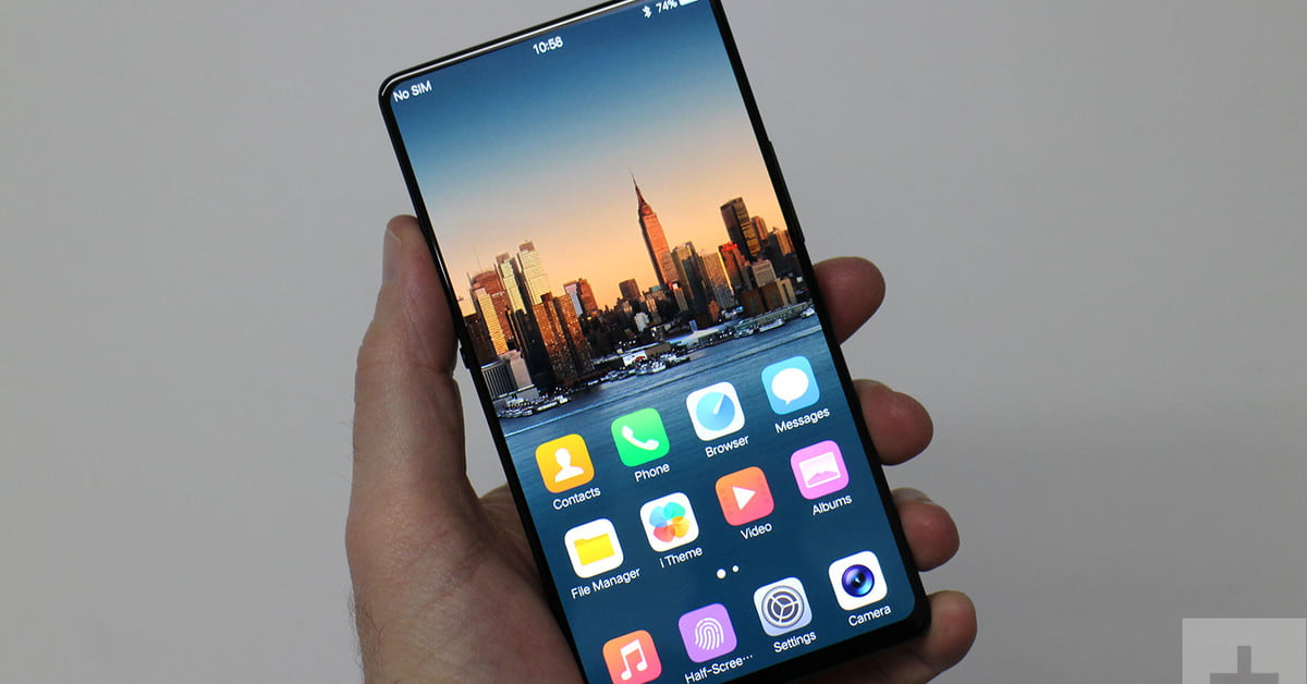 Hands On: Vivo Apex Concept Phone Shows Features Future Phones Will Use (Dual Fingerprint Reader, Notchless Display and Retractable Selfie Cam)