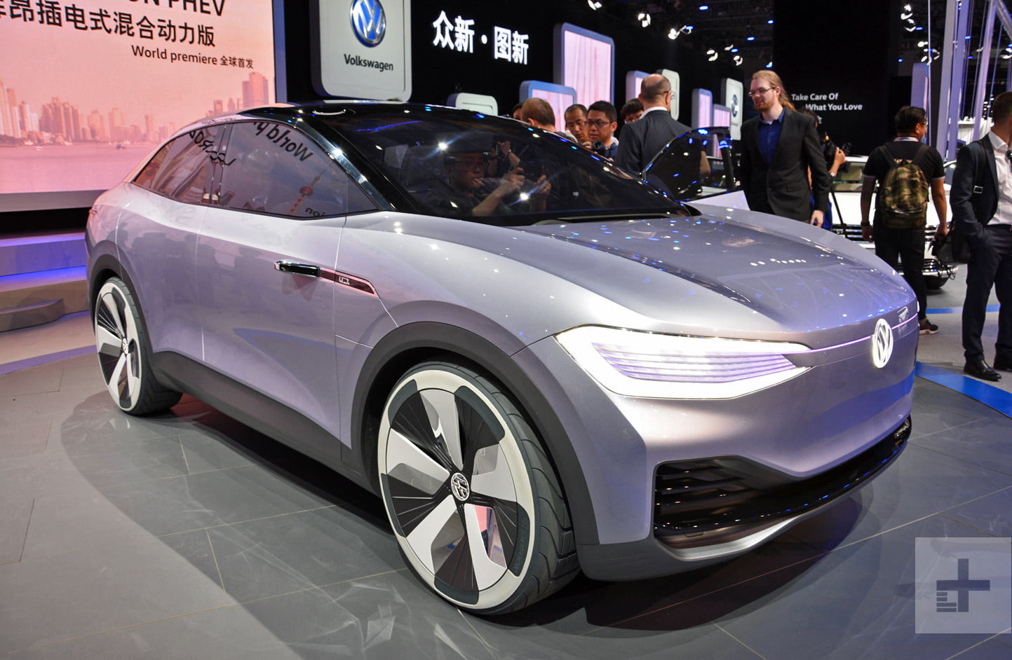 Volkswagen I D Crozz Concept Goes Into Production In 2019 Digital Trends