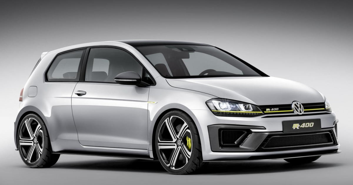 Volkswagen S 420 Hp Golf R400 Could Take The Top Spot In Hot Hatch Hierarchy