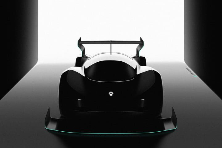 Volkswagen Pikes Peak electric race car teaser