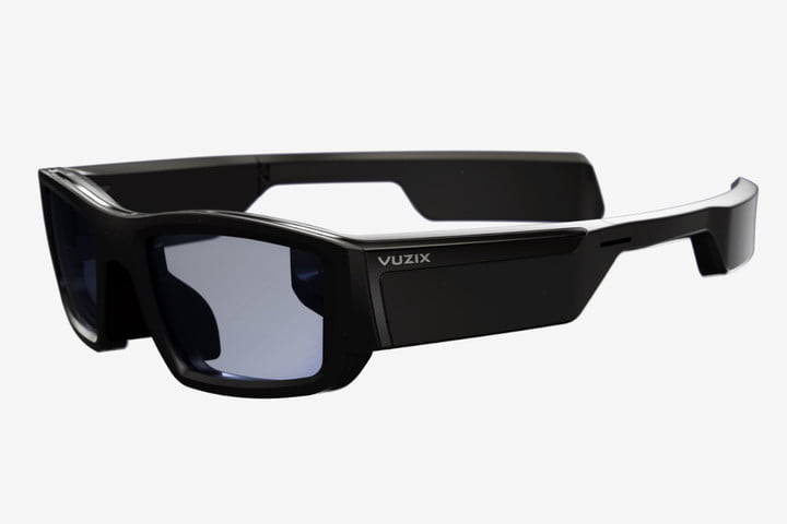 vuzix blade ar smartglasses news side