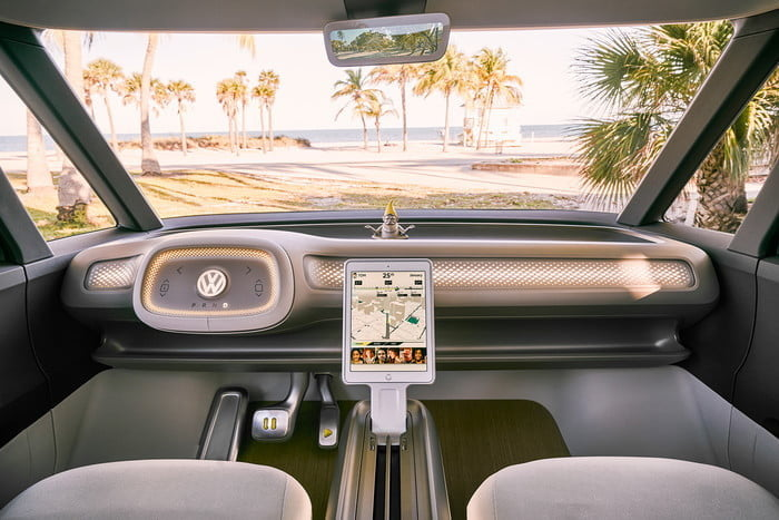 vw electric car buzz dash