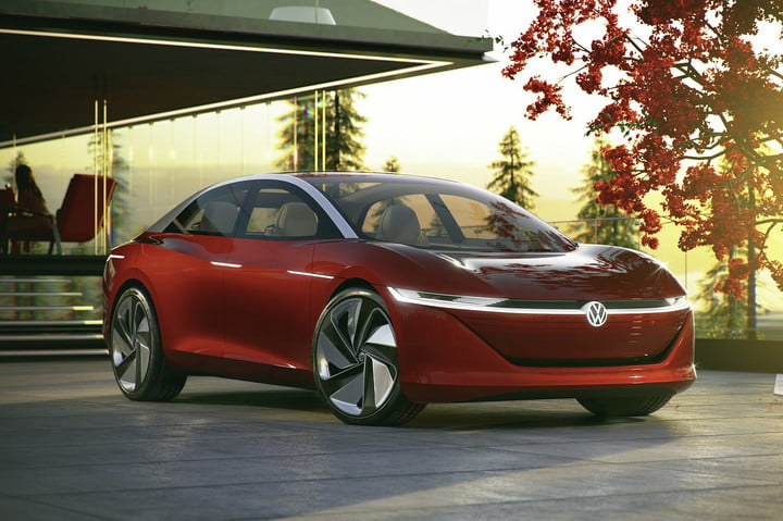 Volkswagen ID Vizzion concept official shots