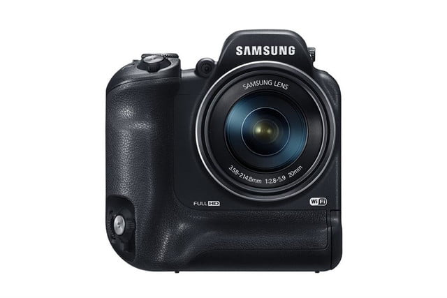 samsung ces 2014 point and shoot cameras wb2200f 001 front black