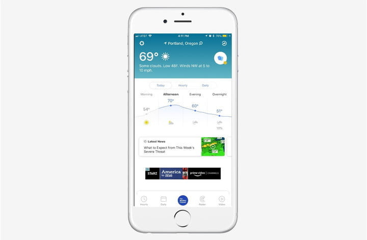 best weather apps for iphone channel