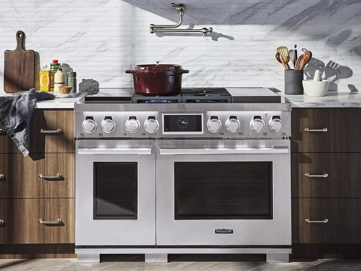 Champagne-colored fridges? Talking toilets? All the appliance trends in 2019