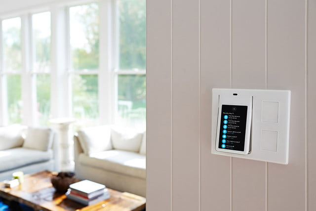 winks relay light switch works with uber fitbit and ifttt wink touchscreen controller 005