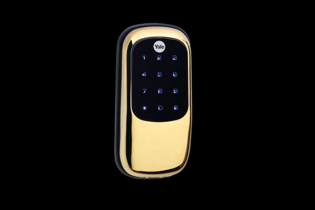 yale real living touchscreen deadbolt yrd240 key free us3