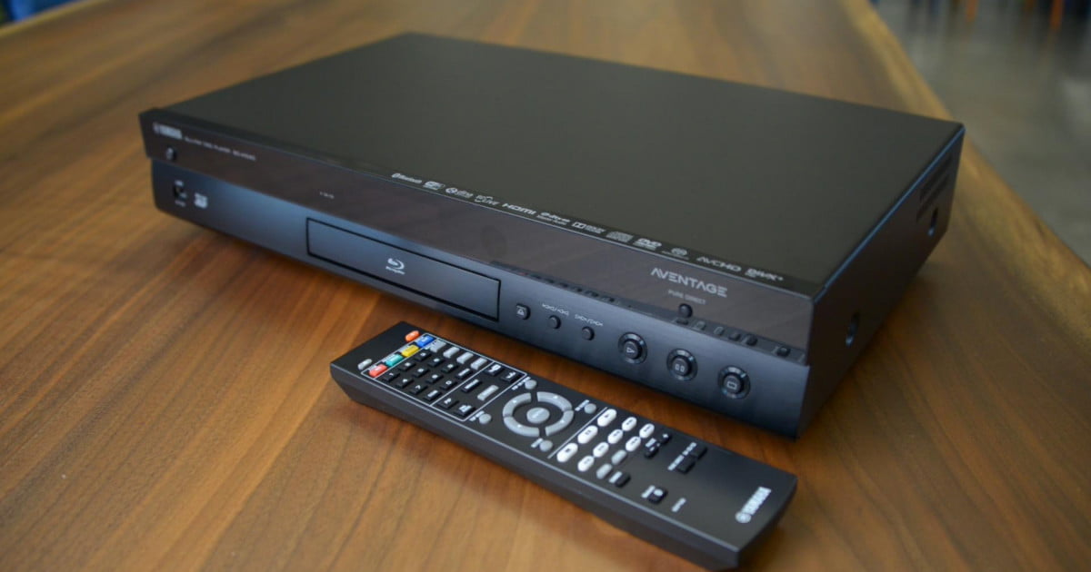 hands on with yamaha 39 s aventage bd a1040 blu ray player. Black Bedroom Furniture Sets. Home Design Ideas
