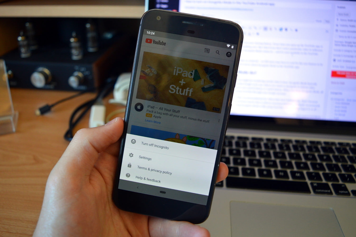 How To Use Youtube S Incognito Mode In The Android App Digital Trends