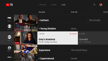 YouTube TV Adds Native Apps for Xbox One, Android TV | Digital Trends