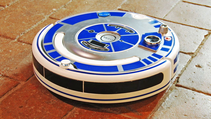 Turn Your Roomba Into R2d2 With This Bel Amp Bel Sticker Set
